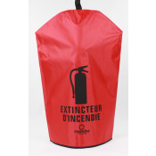Fire Extinguisher Cover-French -30 LB with no window