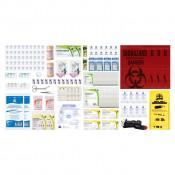 CSA, Type 3, Medium Intermediate Unitized Refill Kit (Packaged in a ziplock bag) 26-50 employees per shift