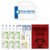 CSA, Type 1, Personal P10 Kit (Packaged in a plastic box) 1 employee or working in isolation
