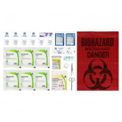 CSA, Type 1, Personal Refill Kit (Packaged in a ziplock bag) 1 employee or working in isolation