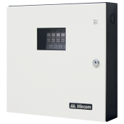 Fire Alarm System 6 Zone Panel White