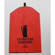 Fire Extinguisher Cover-French -10 LB with no window