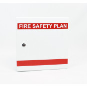 Fire Safety Plax Box - Keyed for Peel Region