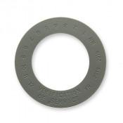 "1 3/4"" Verification of Service Collars gray Medium Package of 100"