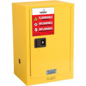 Nosredna 12 Gallon Manual Door Safety Cabinet 35 x 23 x 18 FM Approved