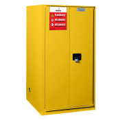 60 Gallon Manual Close Safety Cabinet 65 X 34 X 34 FM Approved