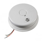 120V AC Wire-In Smoke Alarm with Sealed Lithium Battery Back up Worry-Free