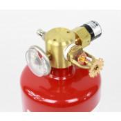 9 lb FM200 Automatic Clean Agent Fire Extinguisher Class A & C 264 cuft Class B 209 cuft