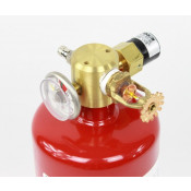 9 lb FM200 Automatic Clean Agent Fire Extinguisher Class A & C 264 cuft Class B 209 cuft c/w Pressure Switch