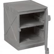 4 Gal Poly Cabinet One Door-One Shelf