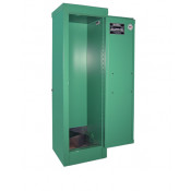 """2-4 Cylinder D, E  Self-Latch Standard Door, Fire Lined; Dimension 44""""H x 14""""W x 13-5/8""""D; Holds 2-4 D, E Cylinders; Approx. Ship. Wt. 135 Lbs."""