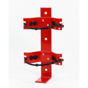 Vehicle bracket with bungie cord --2.5 LB Fire Extinguisher