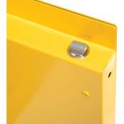 Nosredna 30 Gallon Manual Door Safety Cabinet 44 X 43 X 18 FM Approved