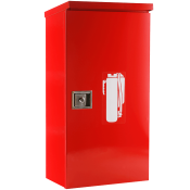 30 LB HEAVY DUTY OUTDOOR CABINET-RED