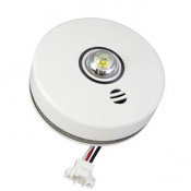 120V AC 3-in-1 LED Strobe and 10 Year Combo/ CO Alarm