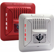 Red Fire Alarm Horn/Strobe