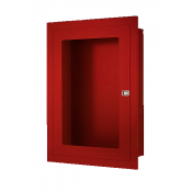 RECESSED FIRE HOSE CABINET 22 X30 X8 RED