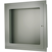 RECESSED FIRE HOSE CABINET 30 X30 X6 STAINLESS STEEL