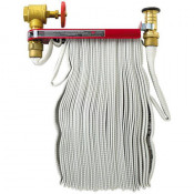 "SOFT-FLEX INTERIOR FIRE HOSE 1.5"" X 50' (RACK HOSE)"