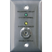 RCDS-1 RELEASE CKT DISABLE SWITCH
