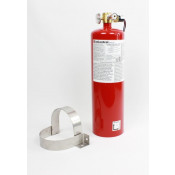 12 lb FM200 Automatic Clean Agent Fire Extinguisher Class A & C 278 cuft Class B 278 cuft c/w Pressure Switch