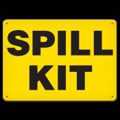 """Spill Kit (7""""x10"""") Rigid Plastic"""