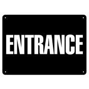 "Entrance (7""x10"") Self Adhesive"