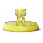 100 GAL SpillNEST Decon Pool - Yellow