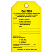 CAUTION Inspection Tag (25/pkg)