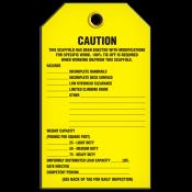 CAUTION Inspection Tag (25/pkg)