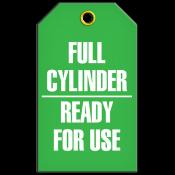 Full Cylinder Tag (25/pkg)
