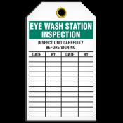 Safety Eye Wash Tag (25/pkg)