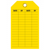 Maintenance Record Tag (25/pkg)