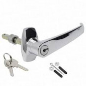 Replacement Lever Handle, Lock and Rod Assembly for WB45 OR WB30 cabinet