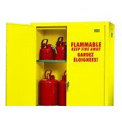 30 GAL MANUAL 2 DOOR SAFETY CABINET 45 X 44 X 19 ULC LISTED