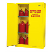 45 GAL MANUAL 2 DOOR SAFETY CABINET 66 X 44 X 19 ULC LISTED