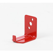 Universal wall hook for 10-15 lb fire extinguisher