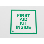 "FIRST AID KIT INSIDE - 4""X4"" -SELF ADHESIVE"