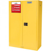 Nosredna 45 Gallon Manual Door Safety Cabinet 65 X 43 X 18 FM Approved
