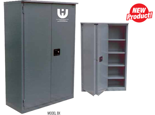 Awesome Security Cabinets   Fire Resistant Double Walled(SELF CLOSING BI FOLD Doors)