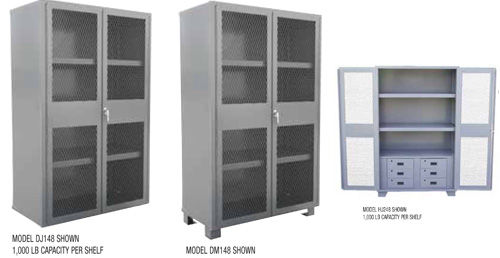 Buy Clearview Door Heavy Duty Security Storage Cabinets from ...