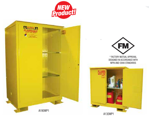 Buy Weather Proof Flammable Storage Cabinets from SECURALL in Canada